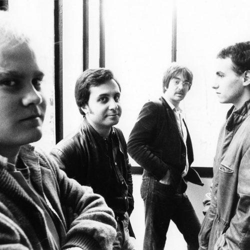 1983 - MG Quartet. Gatto, MG, Di Castri, Rea (foto F.Borelli)