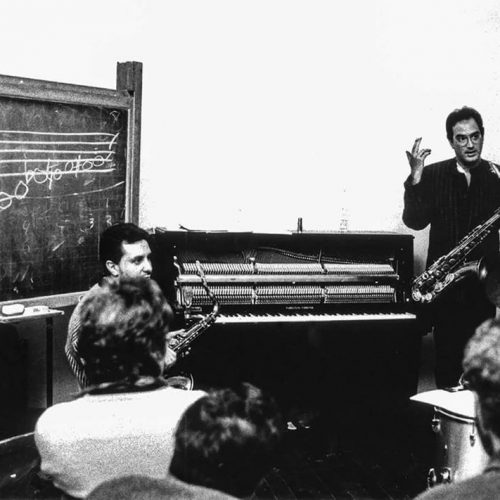 1986 - Workshop w. Michael Brecker-Ravenna