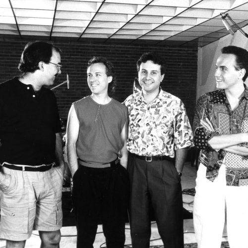 1988 - Hornithology recording session-Erskine, Johnson, MG, Rea