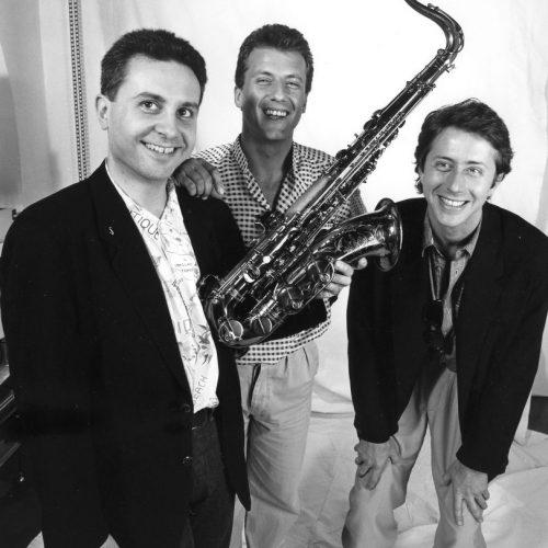 1991 - MG Trio con Roche, Dalla Porta (foto D.Bianca)