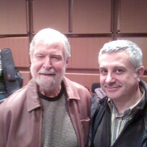 2008 - with Bill Holman-RM Auditorium