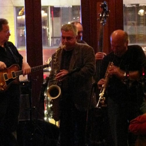 2010 - Jam a N.Y. con Liebman e friends